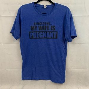 Live and tell mens funny t-shirts size medium